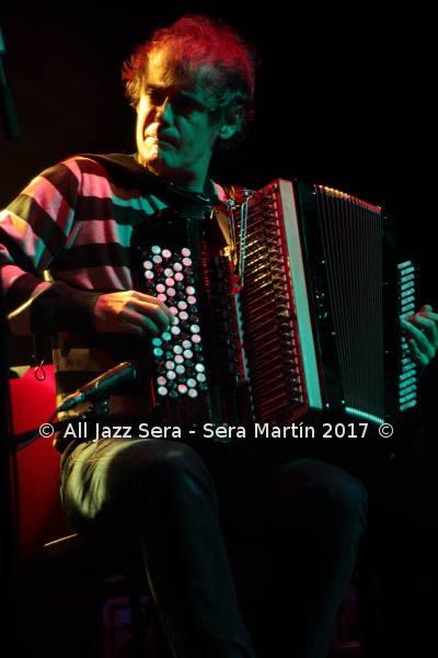 El pasado 9 de marzo en el Festival de Jazz de Iruña